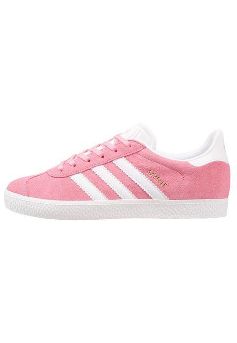 Sneakers bambini come le gazzelle rosa di Adidas