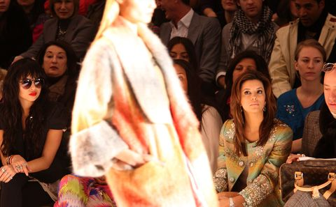 New York fashion week show di eva longoria