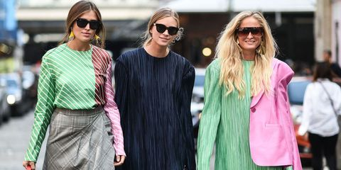Eyewear, Sunglasses, Street fashion, Clothing, Fashion, Pink, Cool, Glasses, Vision care, Textile,