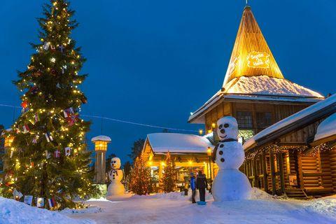 Villaggio Di Babbo Natale In Lapponia.Villaggio Di Babbo Natale In Lapponia Tutte Le Info