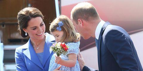 Principe William parla dei figli e delle preoccupazioni per George ma anche per Charlotte