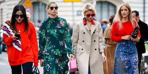 Street fashion, Fashion, Eyewear, Coat, Outerwear, Trench coat, Event, Sunglasses, Overcoat, Glasses,