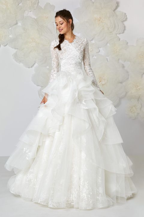 Vestiti da sposa  46 idee moda 2018 354e7b8d78e