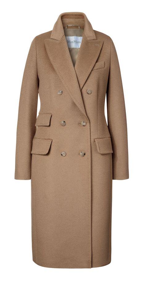 Cappotti donna autunno inverno 2017 come il doppiopetto cammello di Max Mara