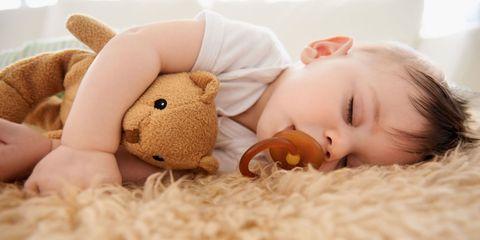 Child, Baby, Skin, Product, Sleep, Stuffed toy, Toy, Toddler, Bedtime, Baby sleeping,