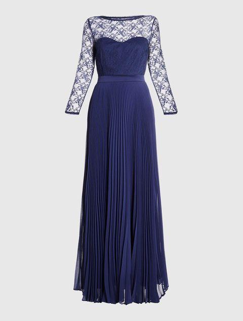 abiti eleganti pizzo blu di marella