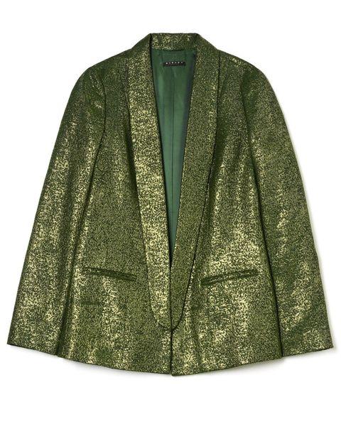 giacche di tendenza autunno inverno 2017-2018 come il blazer in lurex di Sisley
