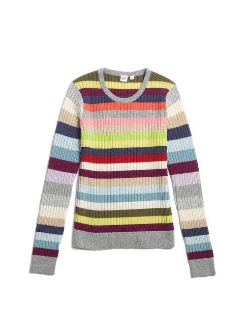 abbigliamento autunno inverno 2017-2018 novità come la moda a righe di Gap