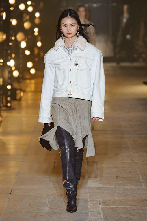 giubbotto-jeans-pelo-moda-inverno-2018-isabel-marant