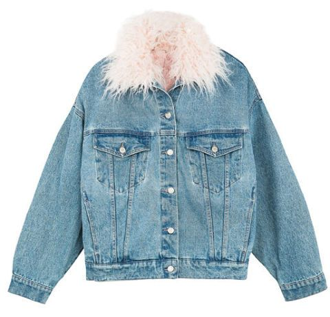 giubbotto-jeans-pelo-moda-inverno-2018-bershka