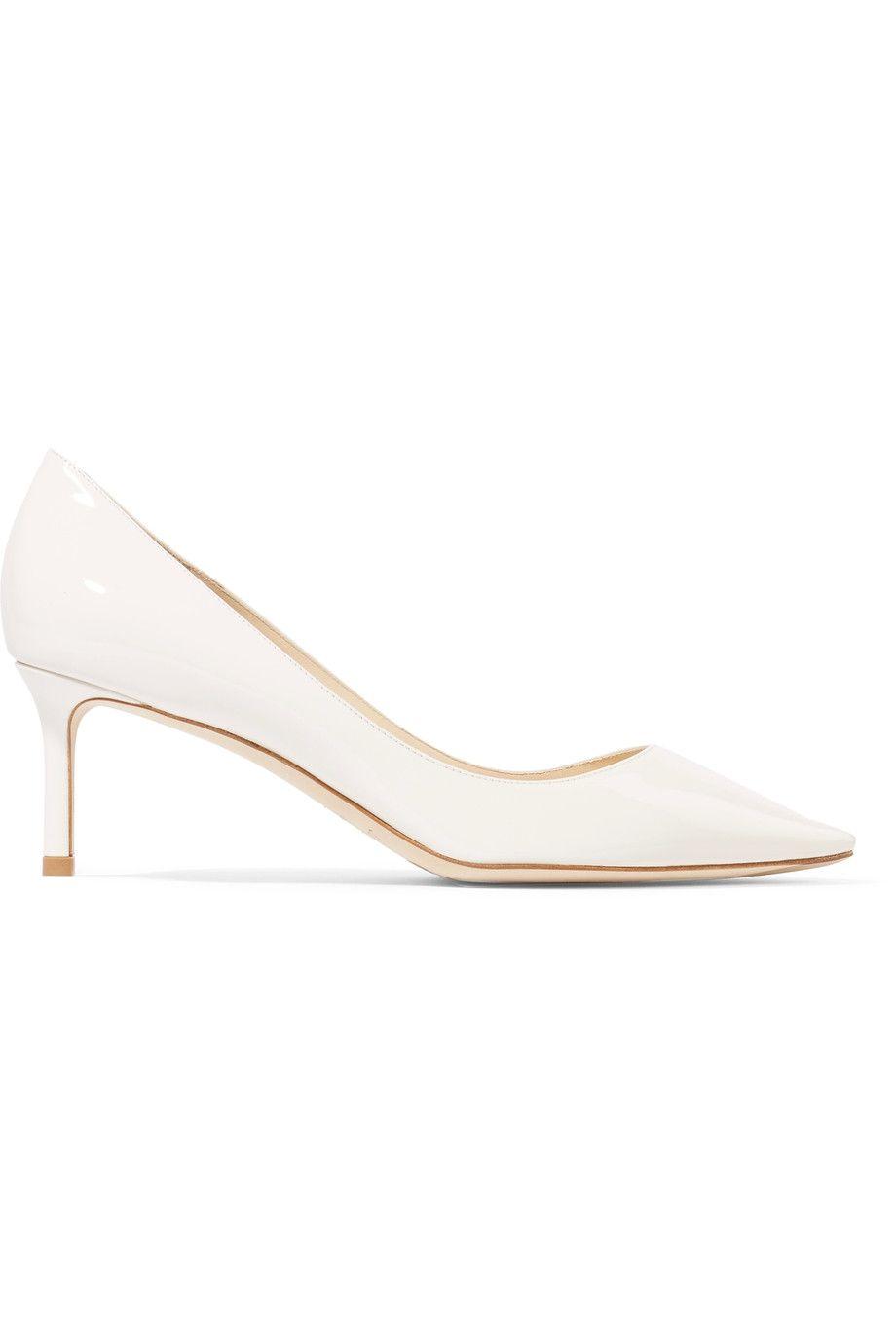scarpe bianche moda 2018 décolleté Jimmy Choo
