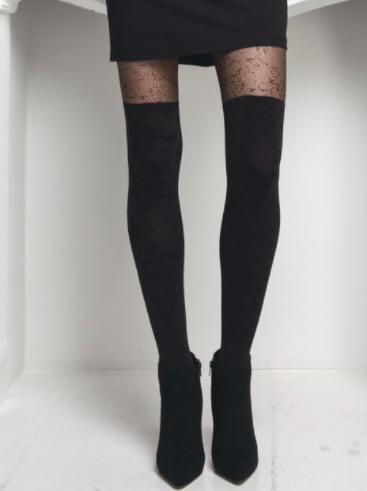informazioni per rivenditore online selezione speciale di Calze parigine: 8 outfit moda inverno 2018
