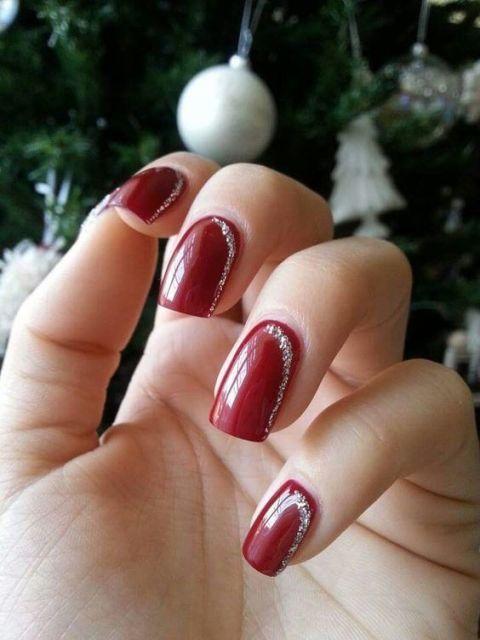 Unghie natalizie 20 nail gel per le Feste