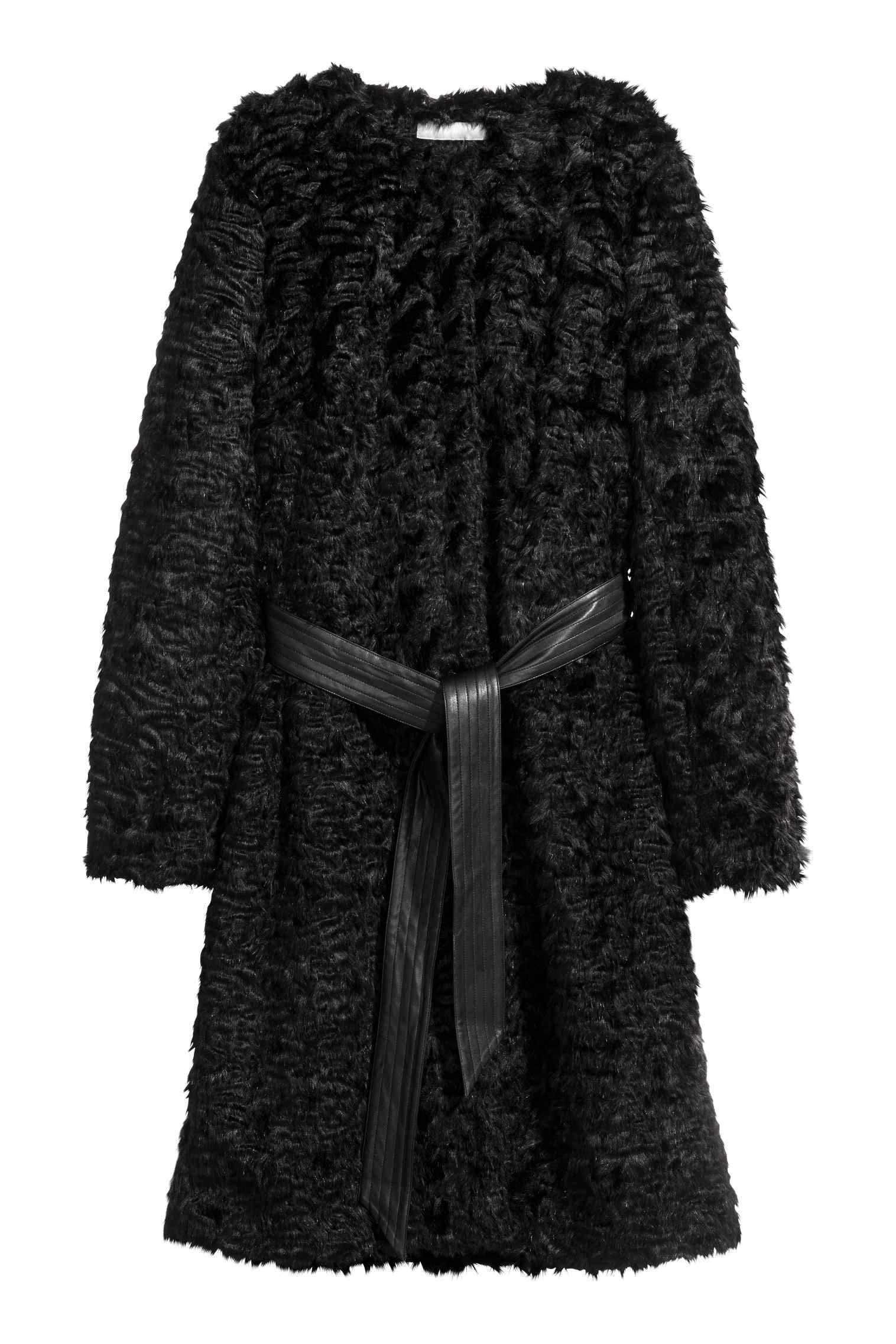 tedddy coat moda 2018 h&m