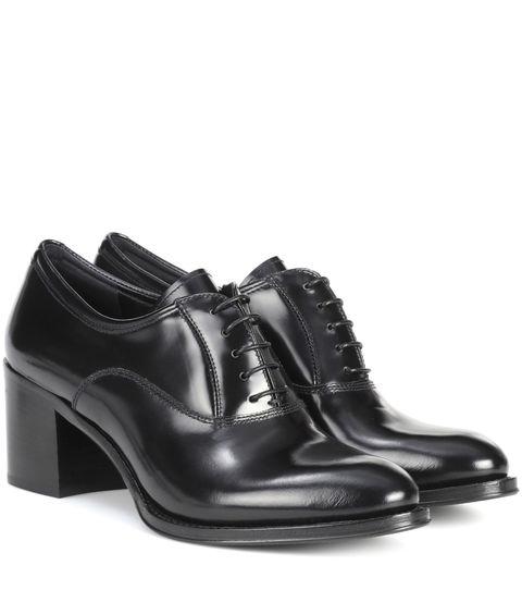 scarpe stringate col tacco moda 2018 church's