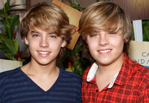 Cole Sprouse e il gemello Dylan