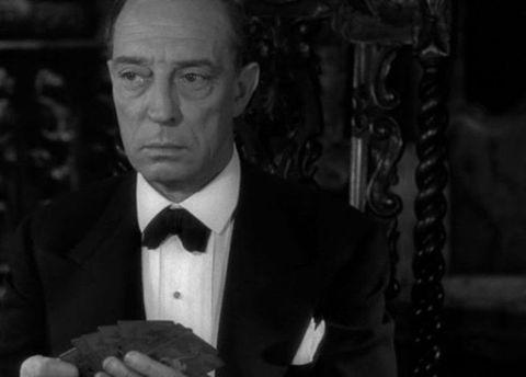 Cameo di Buster Keaton in Viale del tramonto