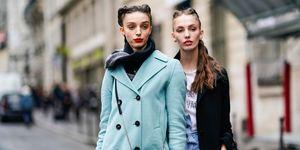 look street style parigi 2018