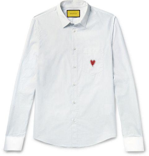 regali san Valentino per lui come la camicia di Gucci