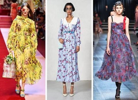 look tendenza moda estate 2018 sfilate