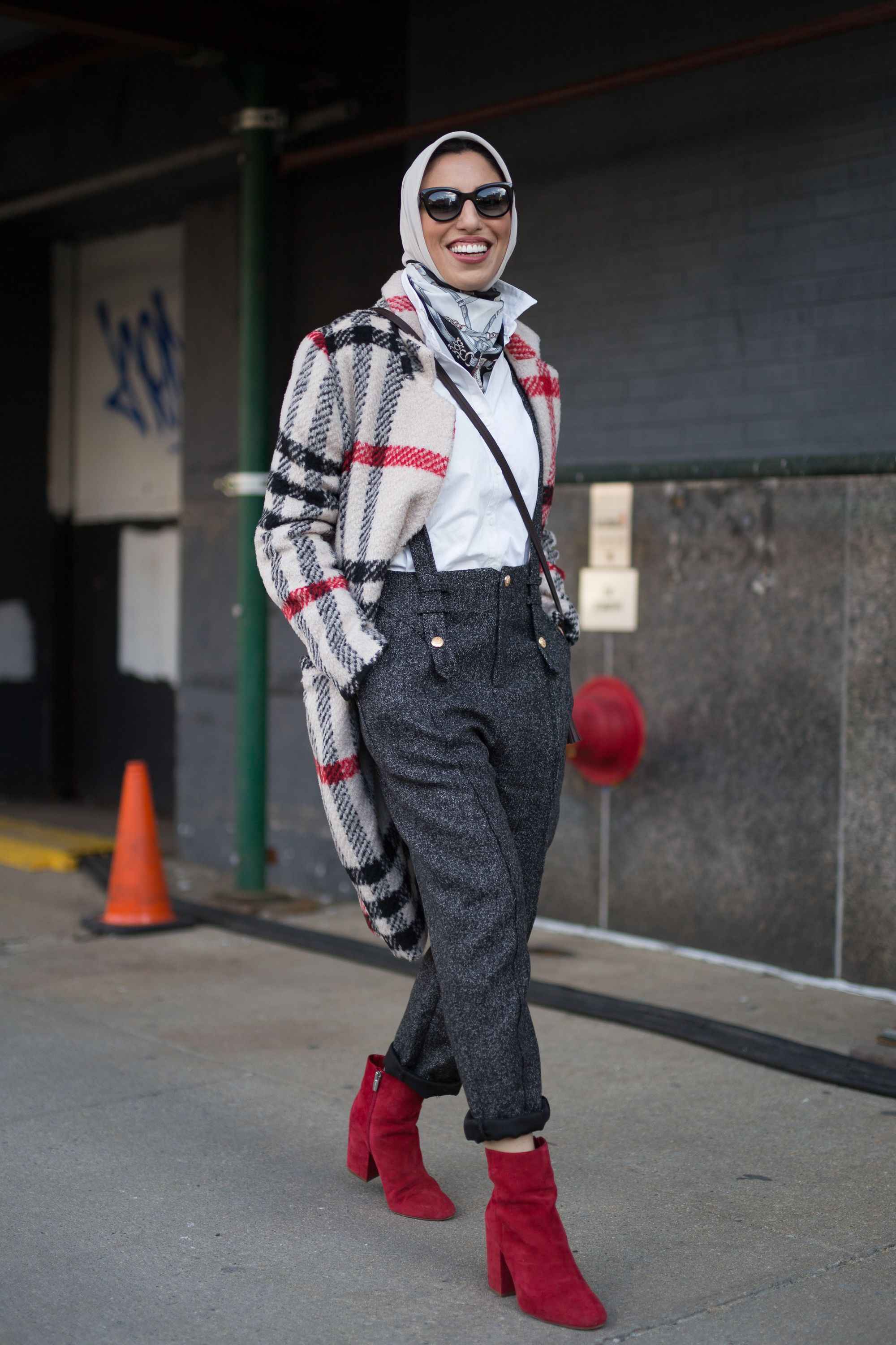 Street style New York fashion week autunno inverno 2018-2019