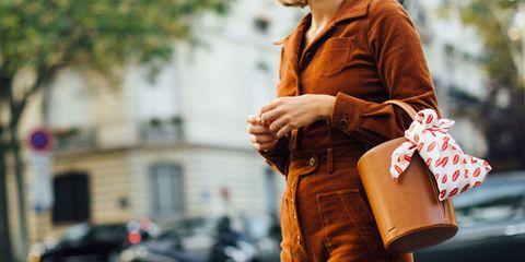 Street fashion, Photograph, Orange, Fashion, Snapshot, Beauty, Yellow, Brown, Street, Outerwear,
