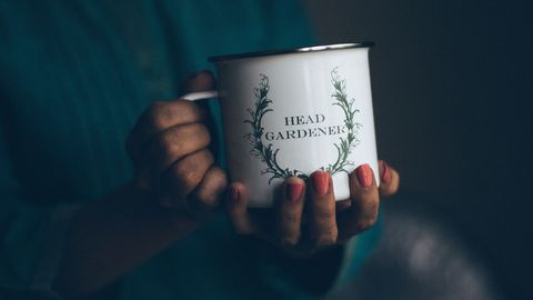 Text, Hand, Font, Cup, Cup, Drinkware, Still life photography, Finger, Mug, Teacup,