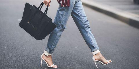 Jeans, Clothing, Street fashion, Denim, Shoulder, Fashion, Snapshot, Footwear, Street, Infrastructure,