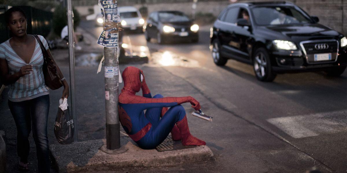 spiderman - Super Normal Expo II, Sakura Galerie Parigi