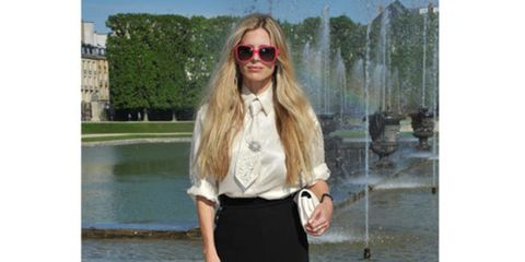 Chanel 2012/13 Cruise Collection at Chateau de Versailles, France