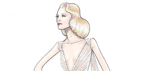 Sleeve, Human body, Shoulder, Standing, Elbow, Neck, Chest, Fashion illustration, Line art, Artwork,