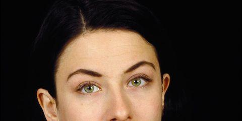 Nose, Ear, Mouth, Lip, Cheek, Hairstyle, Chin, Forehead, Eyebrow, Eyelash,