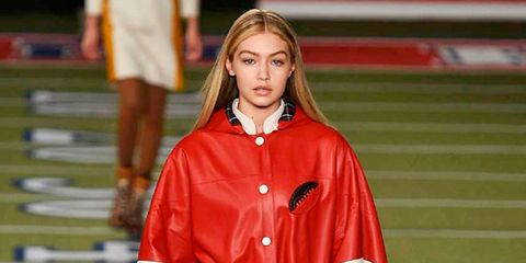 Outerwear, Jacket, Uniform, Jersey, Fashion, Street fashion, Blond, Brown hair, Long hair, Sports jersey,