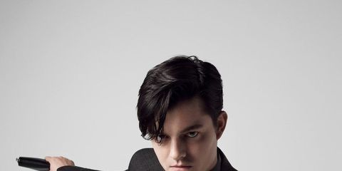 Sam Riley is the new face of Ermenegildo Zegna Couture