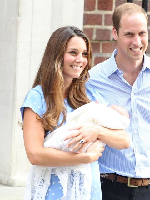 The Royal Birth in Pictures