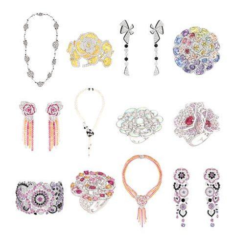 """Chanel's """"Jardin de Camélias"""" collection"""