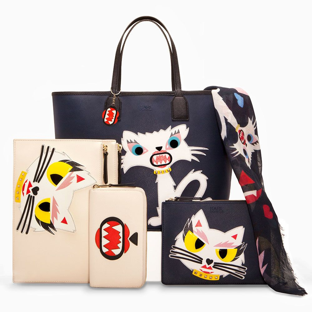 Lagerfeld karl monster choupette collection pictures