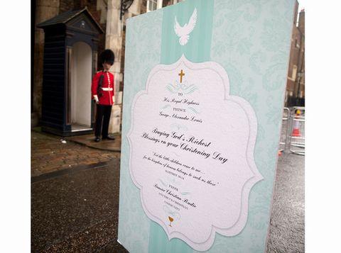 Giant Christening Card