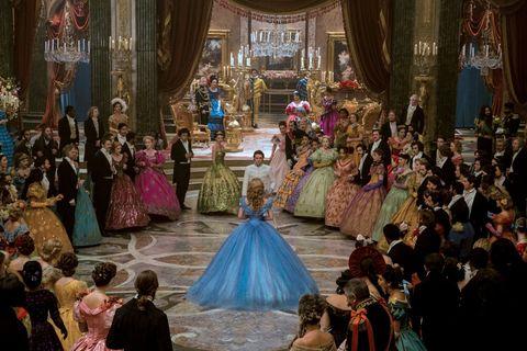 Event, Victorian fashion, Formal wear, Gown, Function hall, Interior design, Dress, Fashion, Curtain, Interior design,