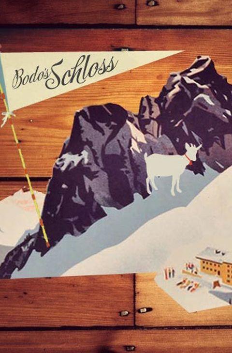 ...embrace Austrian at Bodo's Schloss
