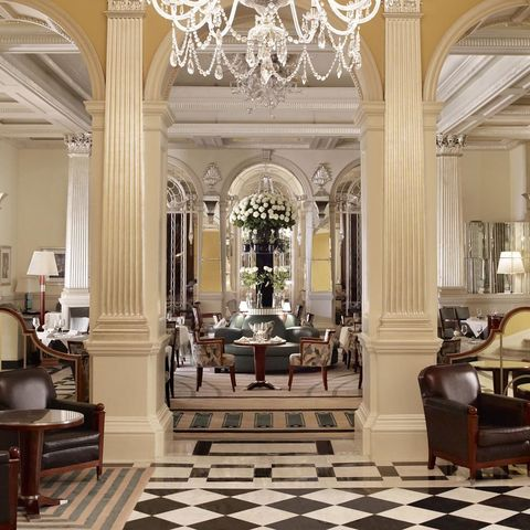 Kate Winslet: Claridge's, London