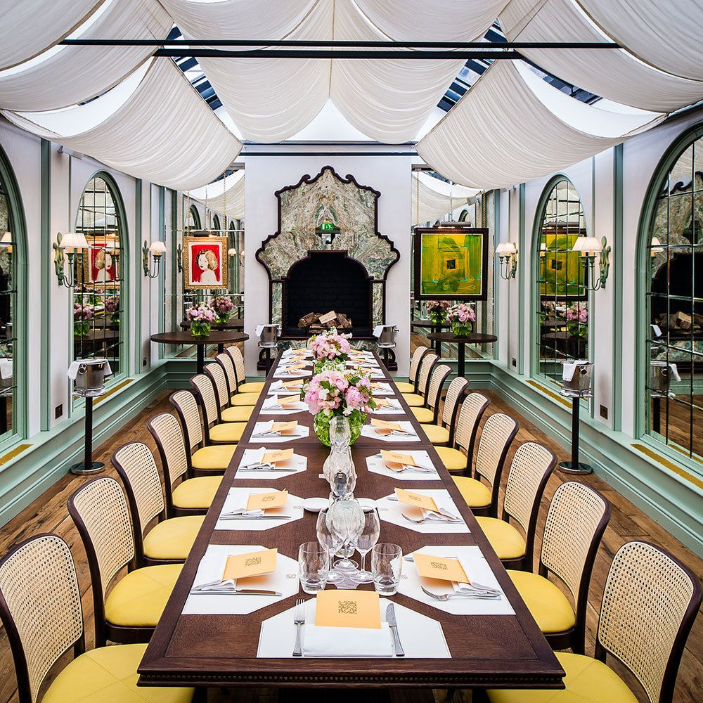 The Best Private Dining-rooms in London