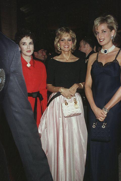 b2fe65771114 Princess Diana at Dior s 50th Anniversary celebration in New York