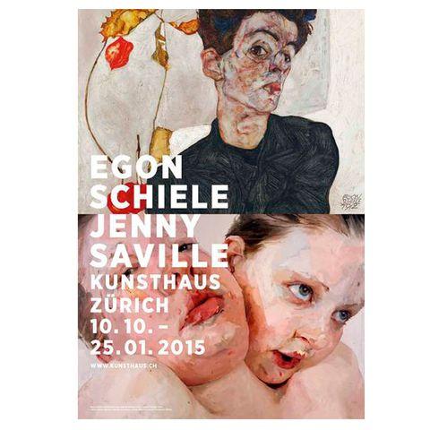 Egon Schiele - Jenny Saville by Christoph Becker & Others