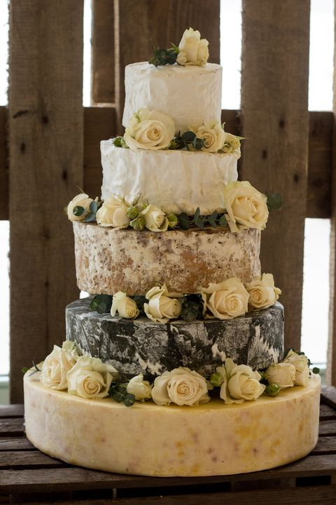 Cheese Wedding Cake from The Fine Cheese Co