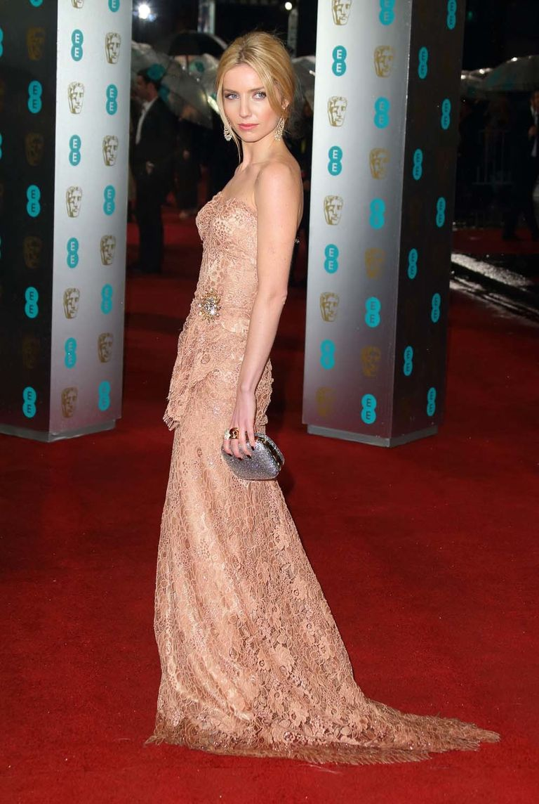 Annabelle Wallis attends the EE British Academy Film