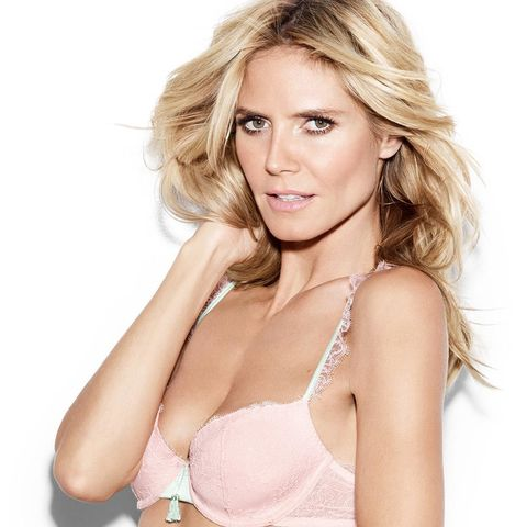 c47bd061fd3d The supermodel and TV presenter stars as the face of her own Heidi Klum  Intimates collection ...