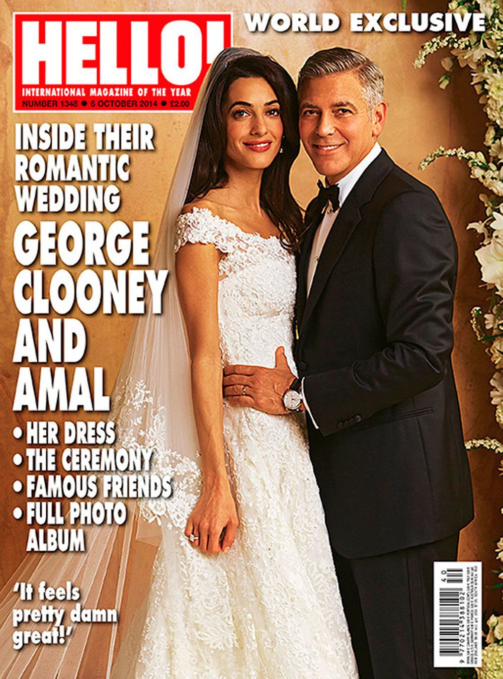 George Clooney And Amal Alamuddin S Wedding In Pictures