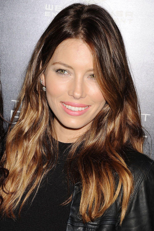 Celebrity ombre hair ideas