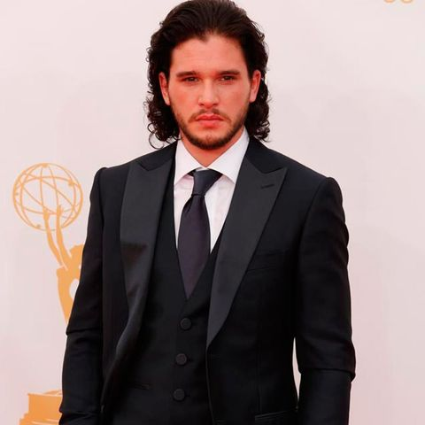 6826bb945a90 Game of Thrones star Kit Harington is swapping his long black coat and furs  to take on a new role – as Jimmy Choo s autumn winter 14 campaign star.